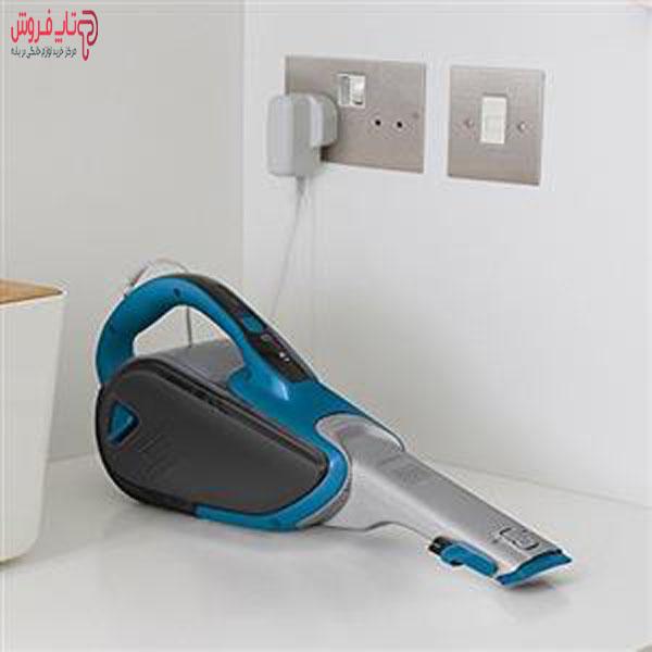 شارژ کردن Black And Decker DVJ320J Chargeable Vacuum Cleaner