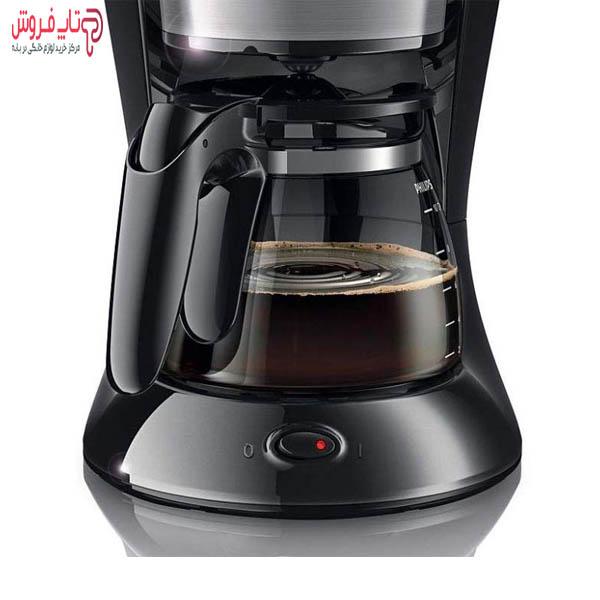 محل قرارگیری قوری قهوه ساز فیلیپس مدل 7457